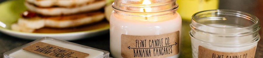 Banana Pancakes Candle